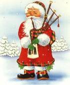 Santa-Bagpipes