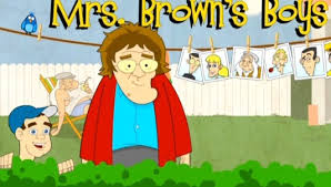 Mrs. Brown Boys character